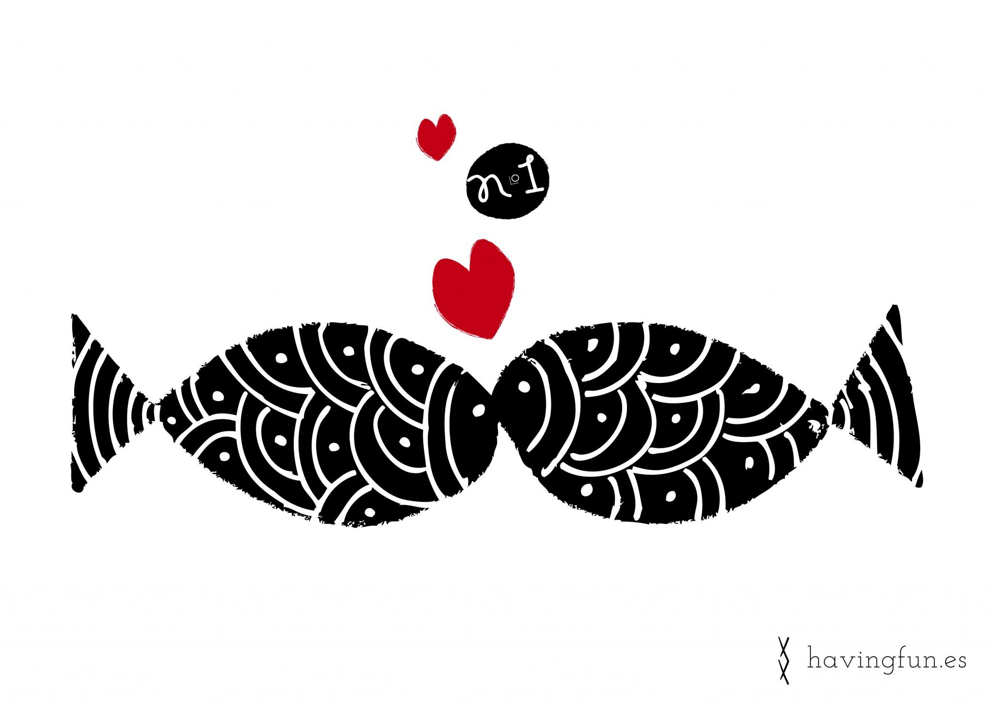 Doodle Love fish Havingfun