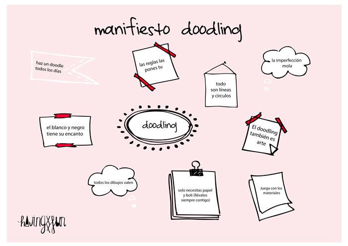 Manifiesto doodling HavingFun