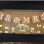 Banderín para bodas rústicas