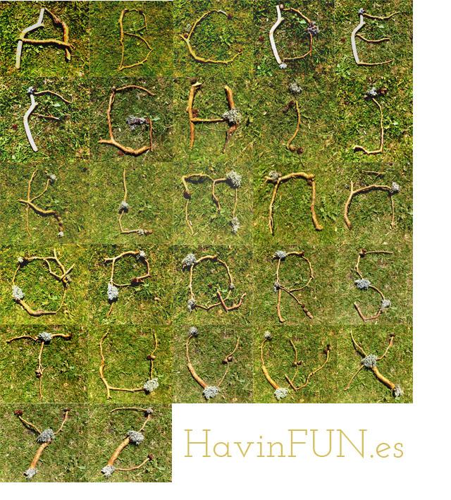 abecedario natural havingfun