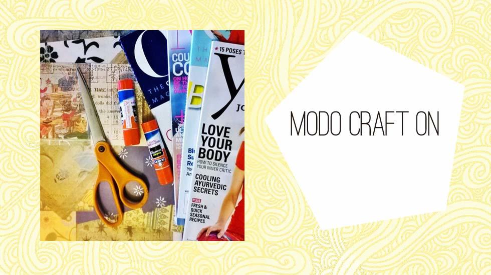 Modo craft ON: Hacer un personaje con collage