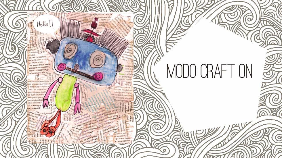 Modo craft ON: Mix media con niños