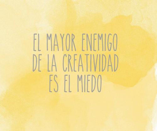 ENEMIGO CREATIVIDAD