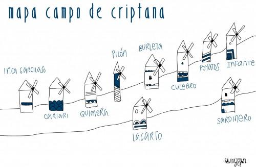 mapa campo de criptana