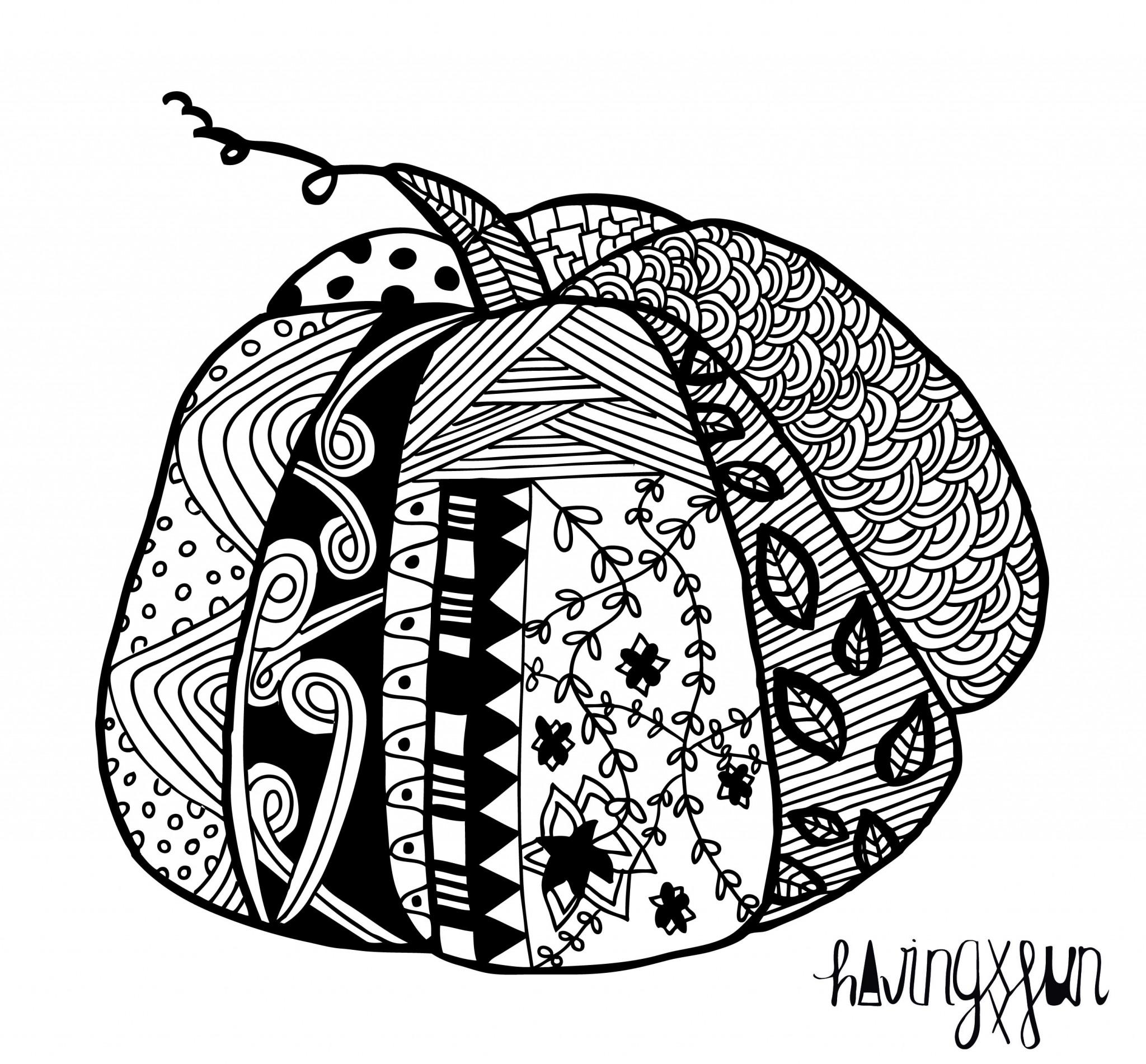 doodle CALABAZA