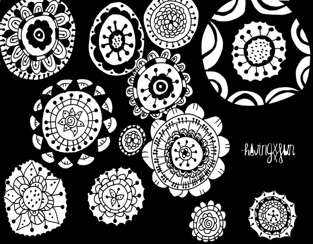 doodle circulos