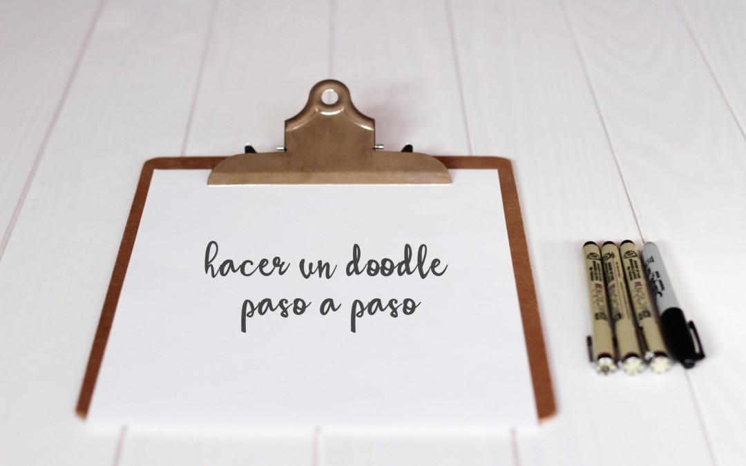 Hacer un doodle paso a paso