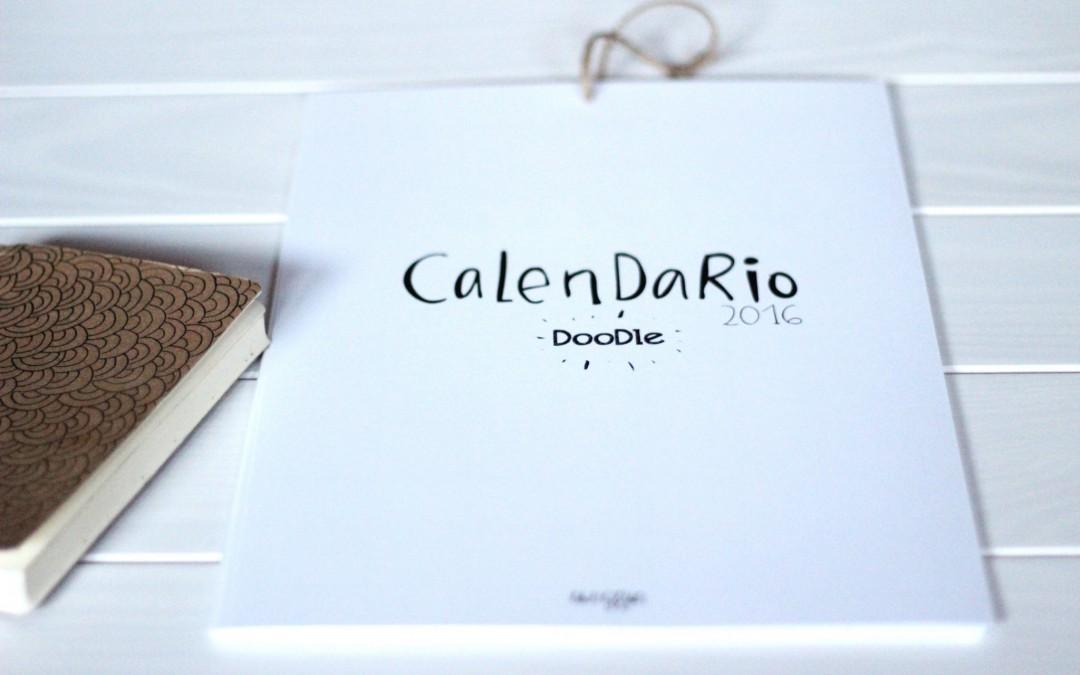 Calendario 2016 doodle descargable: personalízalo!
