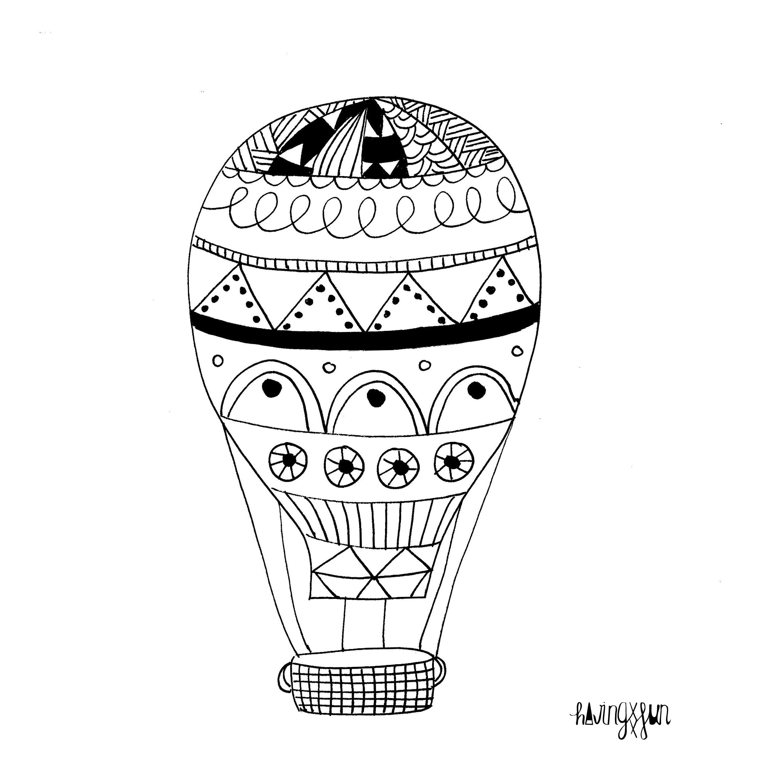 retos creativos doodling