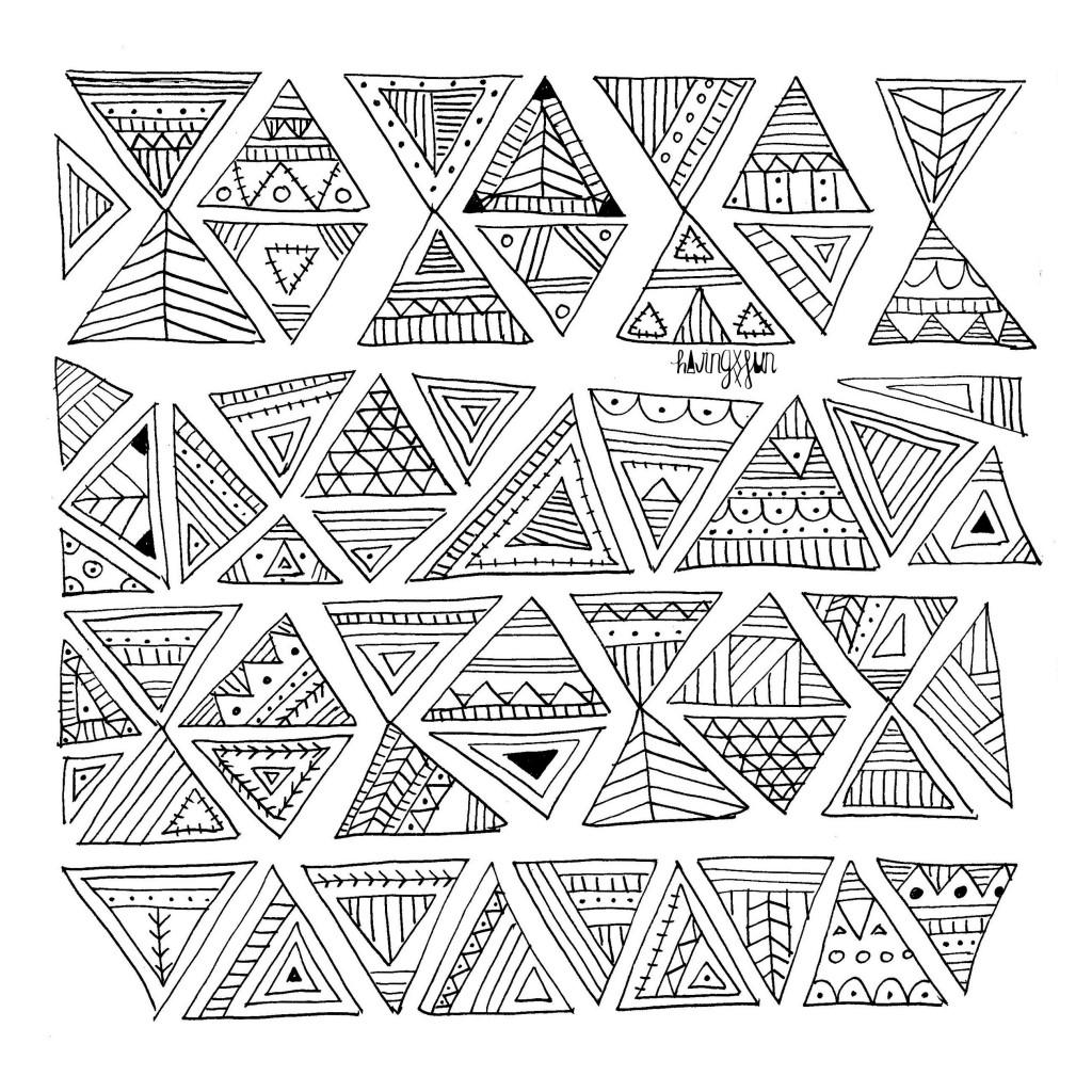 doodling para el colegio