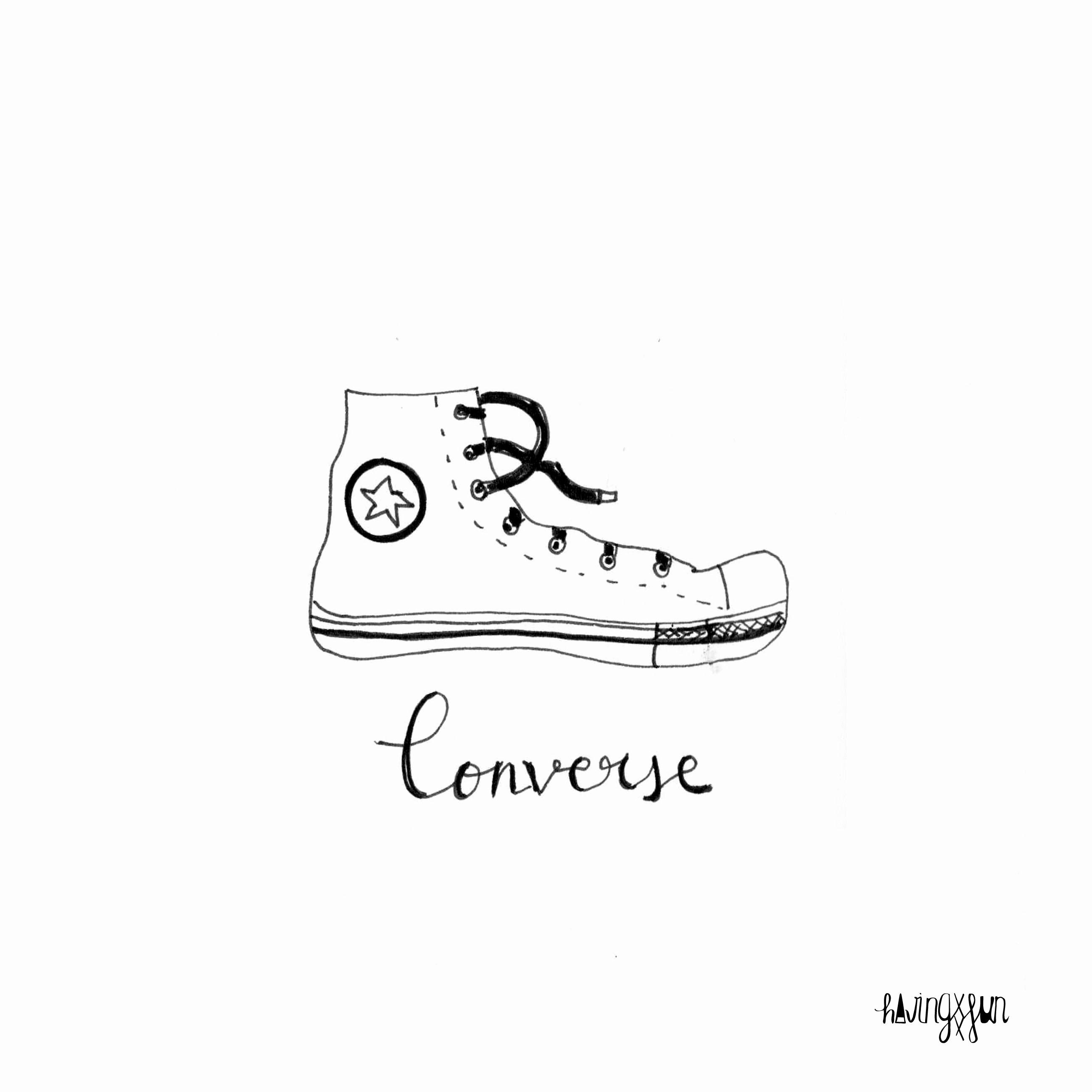 doodle converse