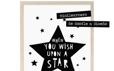 Minilearners, de doodle a diseño. Una pasión que se convierte en negocio.