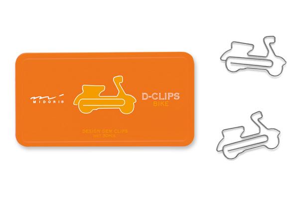 clips forma moto -Havingfun papeleria creativa