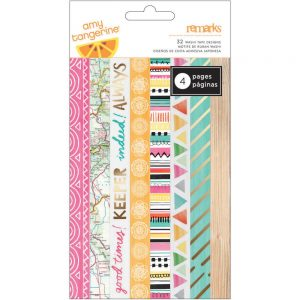 Washi Tape Strip Rise & Shine- Havingfun, papeleria creativa y regalos