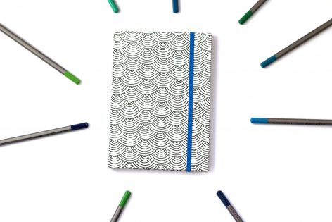 coloring notebook american crafts
