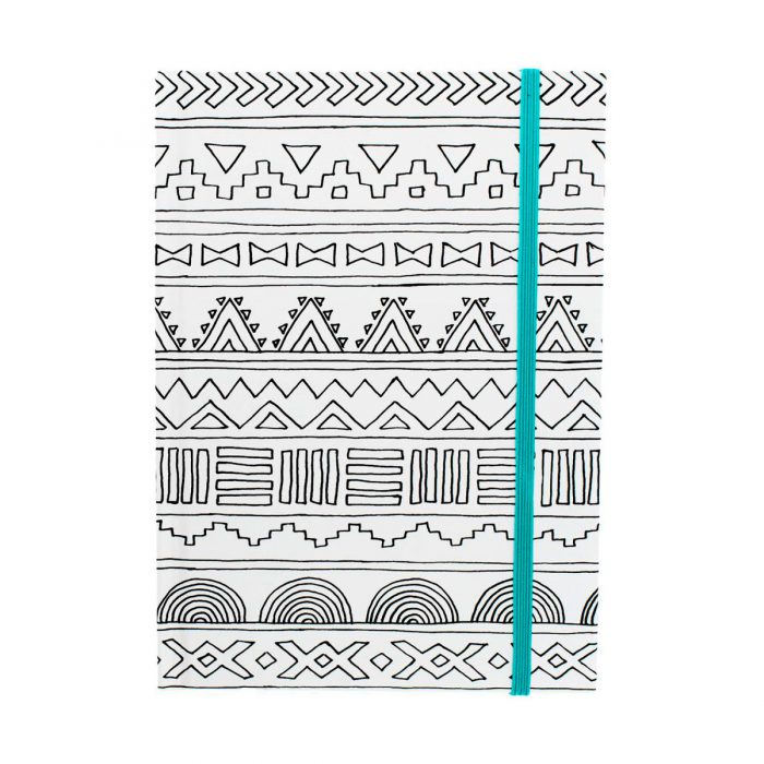 cuaderno_coloring_notebook_tribal