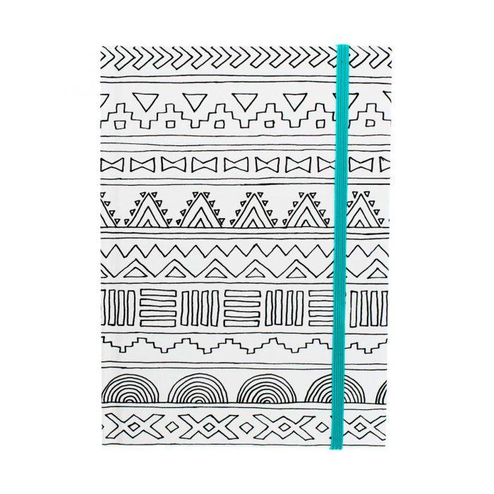 cuaderno_coloring_notebook_tribal