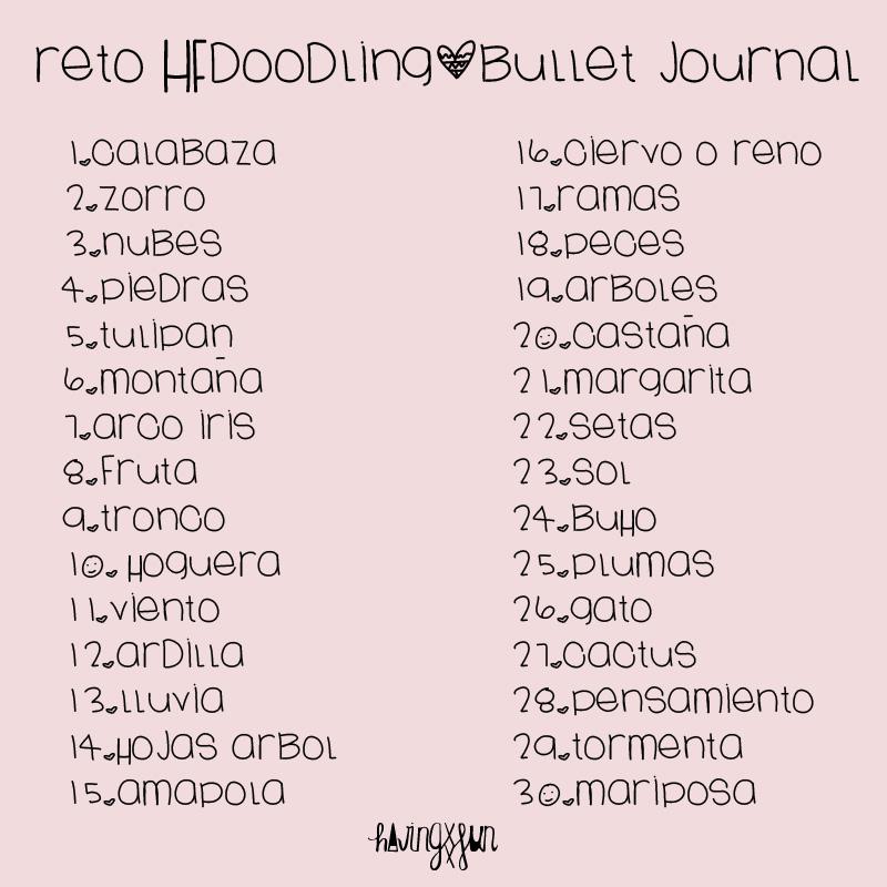 reto_bullet journal_doodling