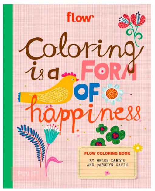 flow coloring book