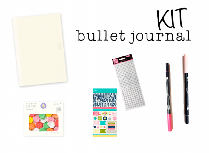 kit boullet journal