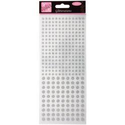 Pegatinas Silver Dots