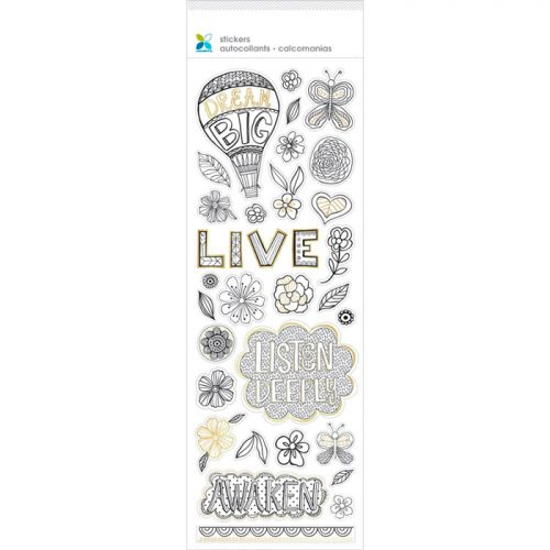 Momenta Momenta Color Your Own Sticker