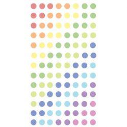 pastel dots sticker- pegatinas para planner