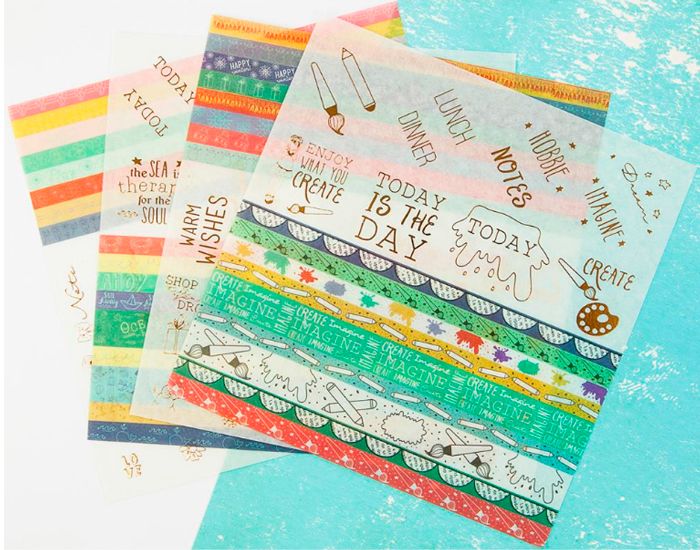 Julie Nutting Planner Washi Stickers