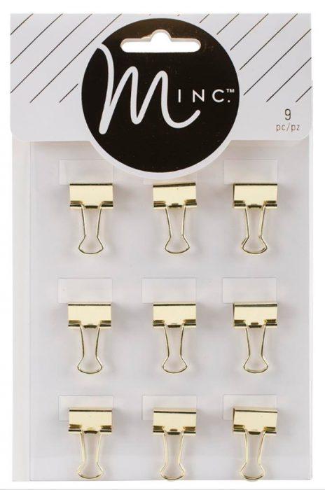 clips dorados