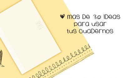 30 formas diferentes de usar un cuaderno