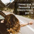 quiero ser mas creativa