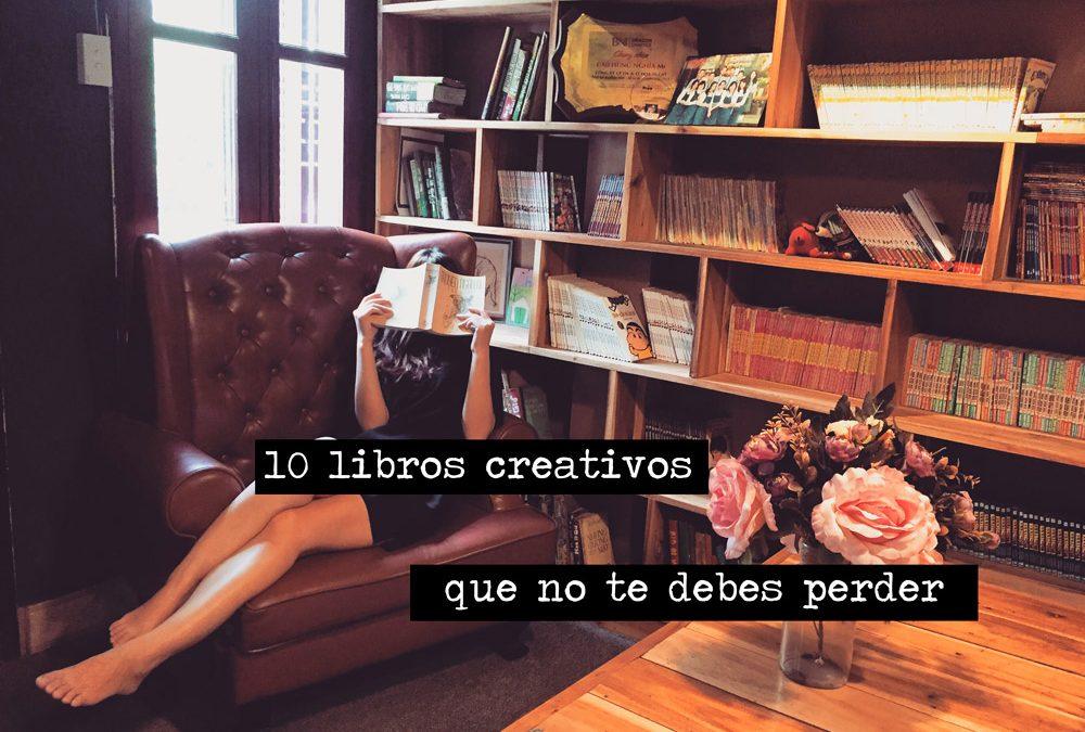 10 libros creativos que no te debes perder