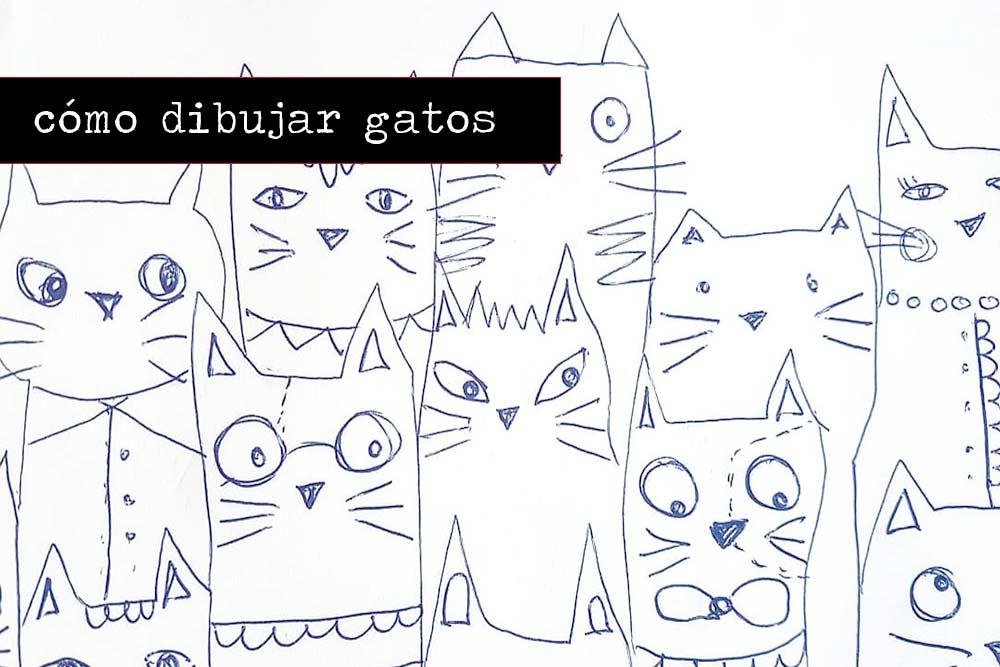 Cómo dibujar gatos
