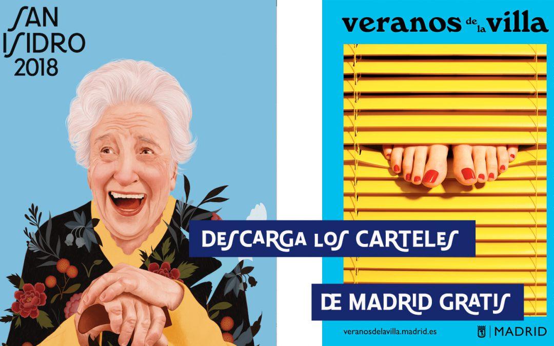 Descarga los carteles de Madrid gratis