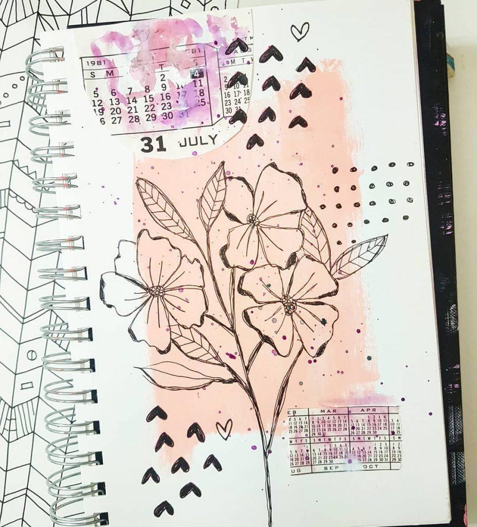 ideas art journal