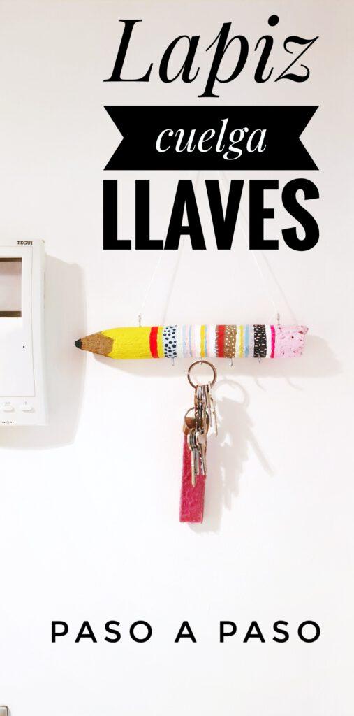 cuelga llaves DIY